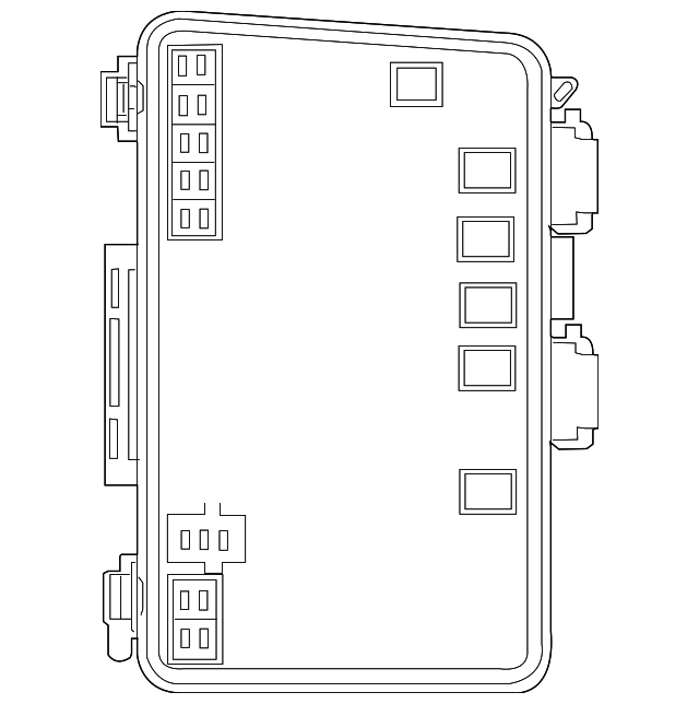 distribution box for 2008 chrysler pacifica 5082088ag wermopar
