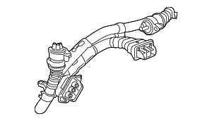 2014 Honda ACCORD PLUG-IN HYBRID (PLUG-IN) CABLE ASSY., THREE-PHASE HIGH VOLTAGE - (1F0005K0003)