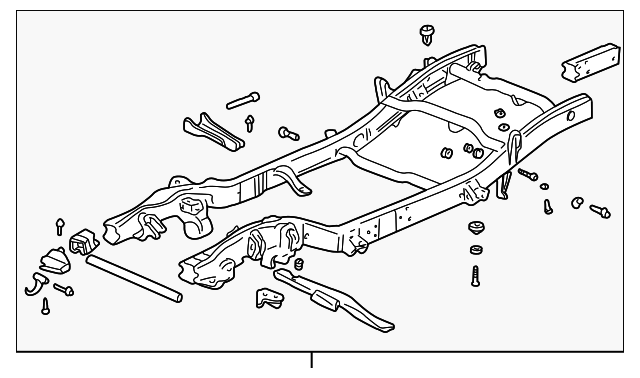 oem frame assy  21997061  for your gm vehicle