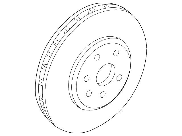 20795302 rotor for 2012 cadillac cts