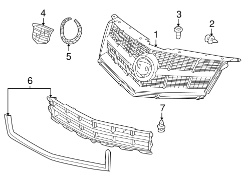 Grille And Components Scat