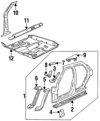 1995 Buick Regal Transmission: UNISIDE For 1995 Buick LeSabre (Custom