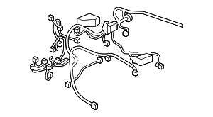 WIRE HARNESS, R. CABIN