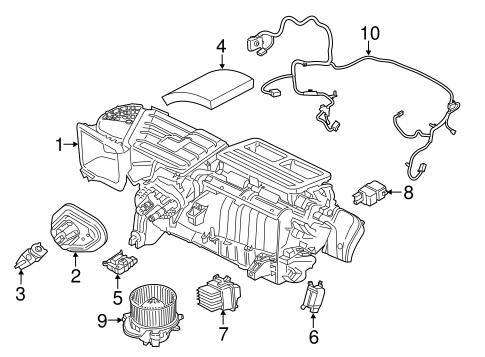 Cadillac Escalade Spark Plug Wiring Diagram also Evaporator And Heater  ponents Scat in addition 2011 Kia Soul Parts Diagram also Tail light harness in addition 1aerk00156. on auto wiring harness plugs