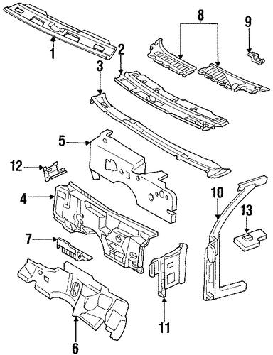 93 cadillac fleetwood parts
