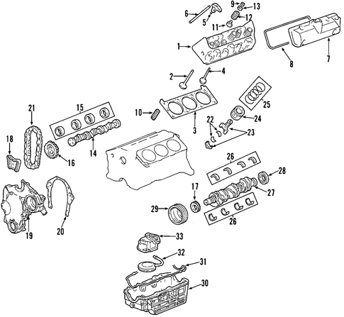 251512575151 likewise T16868356 Front bumper diagram 2008 chevrolet also Truck Suspension Diagrams furthermore Oil Pump Scat furthermore 291235111349. on ford oem parts diagram
