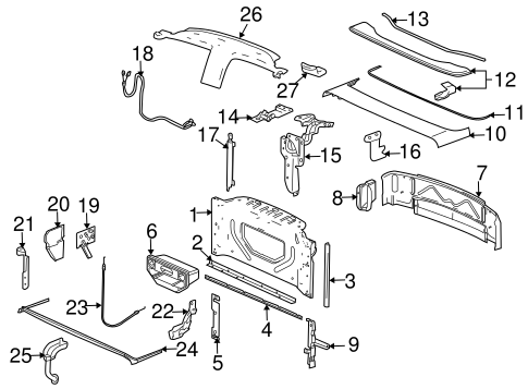 2008 silverado wiring diagram door locks with Door Lock Actuator Wiring Diagram on Diagram Of 2000 Ford Explorer Cv Axle as well 1994 Gmc Power Window Right Side Wiring Diagram additionally 2001 Honda Civic V Tec Engine Diagram as well License Plate Light Wiring Harness together with 2001 Chevy Silverado Radio Wiring Diagram.