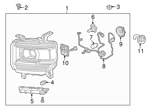 Subaru Towing Trailer Wiring Diagram likewise Search in addition T14818012 Horn relay located 1994 gmc in addition Dodge 2500 Dome Light Wiring Diagrams moreover Gm Tail Light Lens. on 2014 gmc sierra headlight wiring diagram