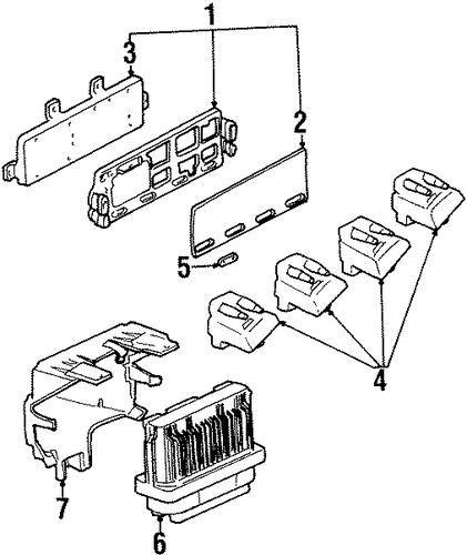 chevy gm module auto parts list