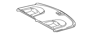 2000-2002 Mercedes-Benz E320 Package Tray 210-690-29-49-1A21