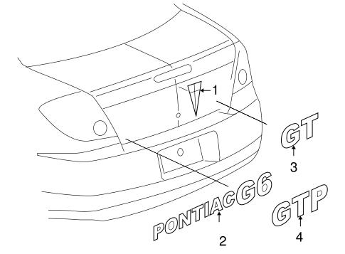 2007 pontiac g6 convertible parts