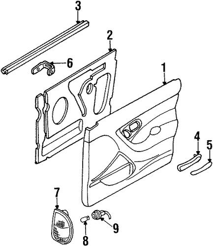 mercury mystique parts catalog