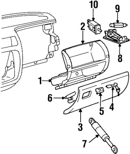1998 cadillac catera parts catalog