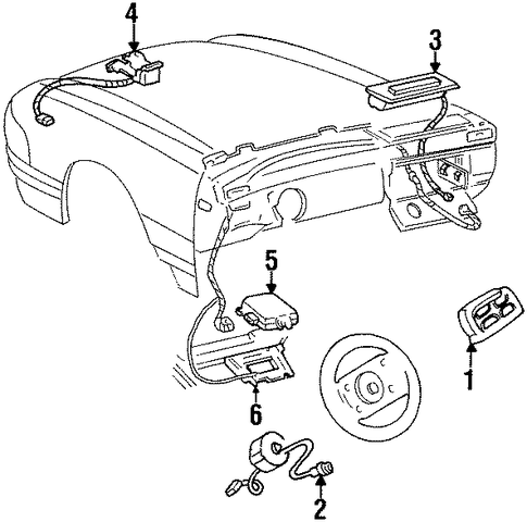 cce682f17bd6cd039b06cfcf4275eeae 1995 cadillac seville sts parts 1995 find image about wiring,Cadillac Deville Fuse Box Location