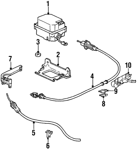 fuel system components for 1997 buick lesabre  custom