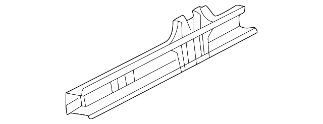 2001 Honda CR-V LX (2WD SUZUKA) PANEL, L. SIDE SILL (DOT) - (04641S10A90ZZ)