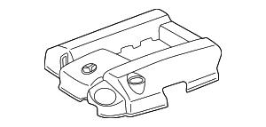 1998-2000 Mercedes-Benz C280 Motor Cover 112-010-01-67