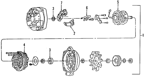 T5341992 Need serpentine belt diagram 2001 ford as well Replace Belt as well 2007 Honda Ridgeline Wiring Diagram as well Alternator Scat together with Pontiac Grand Prix 3 8l Engine Diagram. on buick lucerne engine alternator