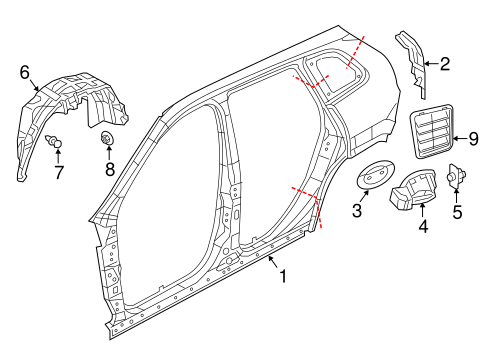 68210919AB in addition 1999 Jeep Grand cherokee  ponent location moreover 1d3xa Remove Liftgate Panel 93 Grand Cherokee When further Hard Back Window Trim Wranglers 8795 P 11911 besides 2014 Jeep Cherokee Gas Door Latch. on jeep cherokee liftgate parts html
