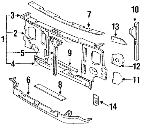 Fuse Box Diagram 2009 Fuse Box Numbers 2002 Nissan Sentra Relay also 1017695 52 Wiring Diagram And Engine Question further Hardbody Truck Parts D21 1986 5 1994 Body Front Roof And Floor Front Apron And Radiator Core Support also 1t309 Need Detailed Cooling System Diagram Nissan Pathfinder furthermore Nissan Frontier Ipdm Wiring Diagram. on nissan d21 ac