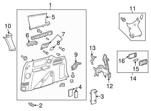 2014 Kia Soul Wiring Diagrams moreover Toyota Lexus Scion moreover Dvd Headrest Wiring Diagram besides Dodge Intrepid 2 7 Liter Engine Diagram furthermore Interior Trim Side Panel Scat. on toyota sienna head