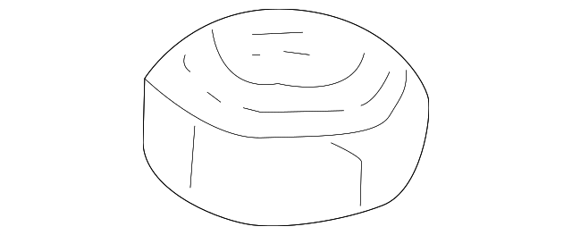2000 Honda CR-V SE NUT, FLANGE (10MM) - (90304S10024)