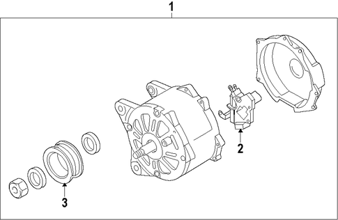 Vw Touareg Alternator on volkswagen touareg parts diagram