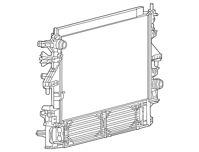 mopar radiator - 2014 ram promaster 2500