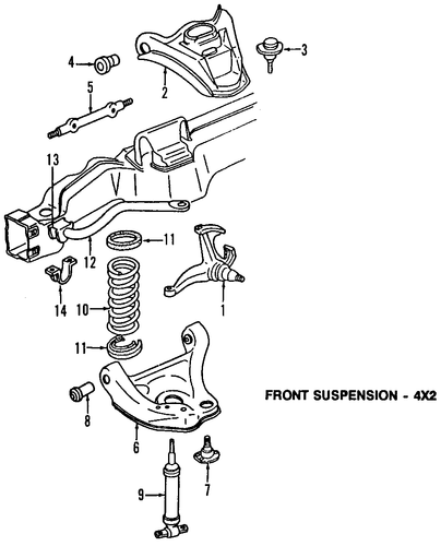 Upper Control Arm For 2003 Chevrolet Astro