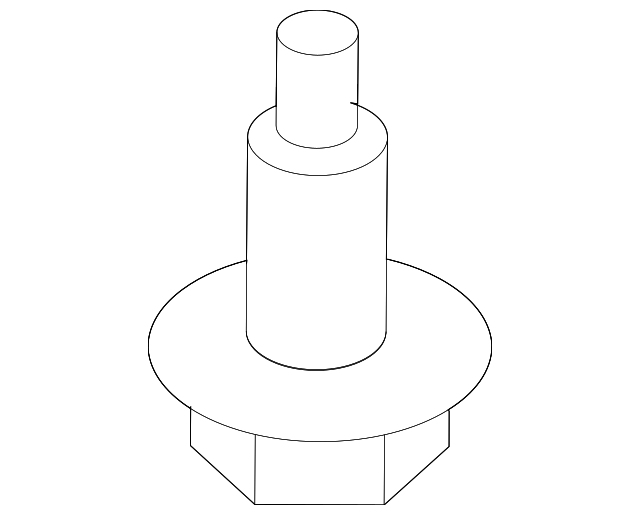 MODULATOR MOUNT BOLT - Honda (57376-SNA-A00)