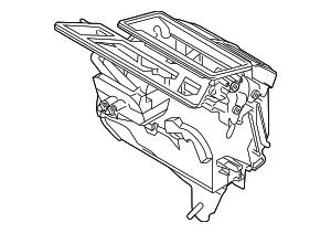 2015 Ford Transit-150 Evaporator Case CK4Z-18A484-A