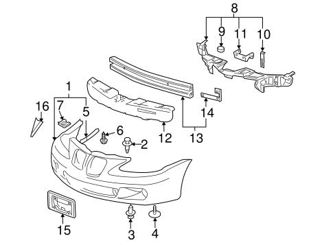 Free Download Parts Manuals 1998 Pontiac Grand Prix Parking System