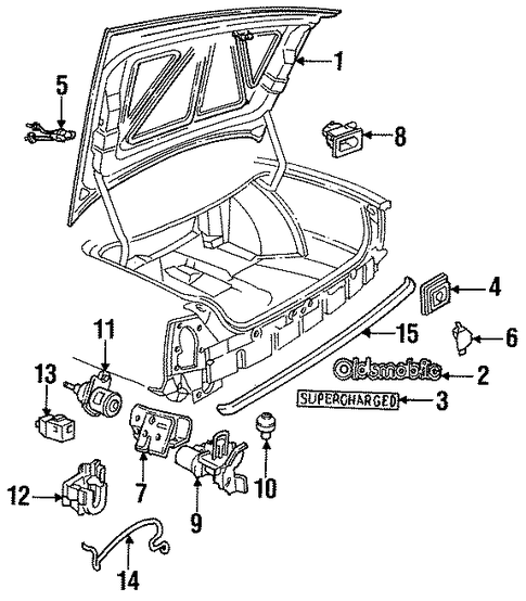 16603372 switch for 1990 cadillac deville