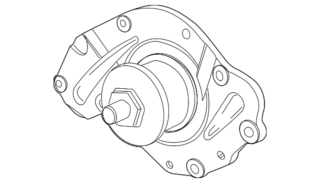 water pump for 2010 chrysler town  u0026 country