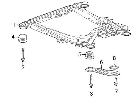 Pontiac Engine Cradle