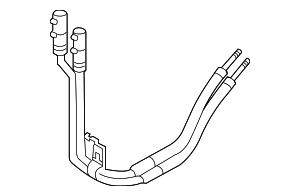 2010-2015 Ford Taurus Hose & Tube Assy DA5Z-7R081-A