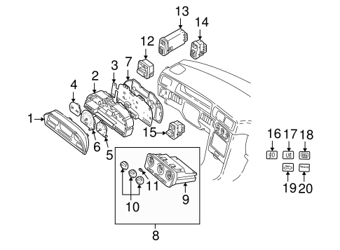 2005 Volvo Xc90 Exhaust Diagram