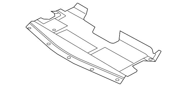 2006 nissan altima engine splash shield