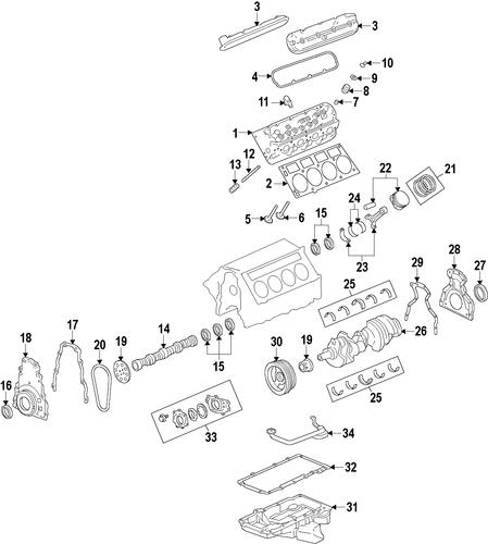 mounts parts for 2009 pontiac g8