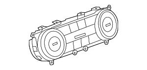 2013-2015 Mercedes-Benz SL550 Heater Control 231-900-56-03
