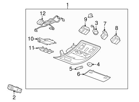 2000 Lincoln Ls Parts Diagram