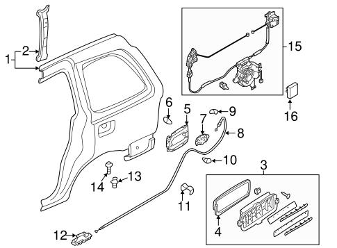 Mazda Mpv Door Lock