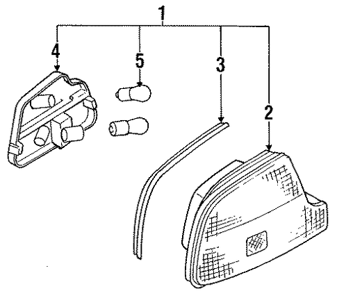 2002 Honda Civic Hood Latch together with 2002 Rsx Parts Diagram Wiring Schematic in addition 33351sr2a01 in addition Honda Glass Front Windshield Green 73111sr2a01 besides 17231p1za00. on honda del sol car parts