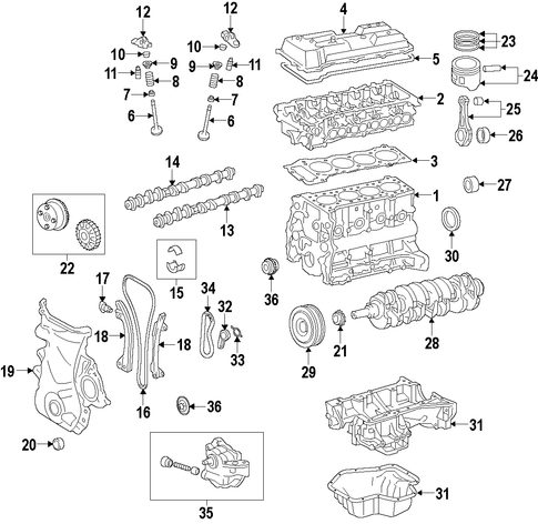 Evaporator And Heater  ponents Scat additionally Engine Scat additionally Grohe 19385000 Allure Volume Control Trim together with Engine Oil Cooler Scat further Condenser  pressor And Lines Scat. on valve trim codes