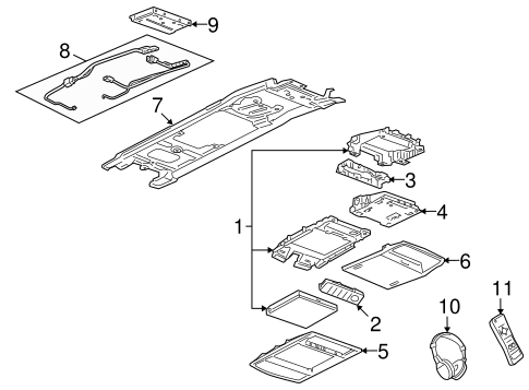 Entertainment System Components For 2008 Pontiac G8 Gt
