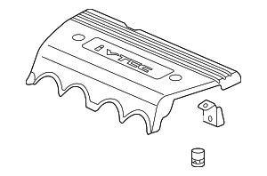 2013 Honda CIVIC COUPE SI COVER ASSY., ENGINE - (17121R42A00)