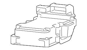 2002 2003 Dodge Ram 1500 Control Module 5083096AC