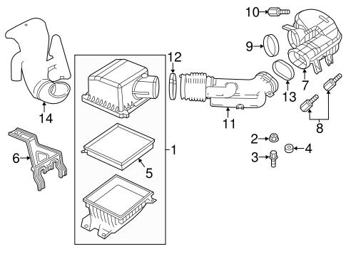 2013 Chrysler 200 Engine Intake