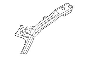 2009-2014 Ford F-150 Inner Rail BL3Z-1551187-A