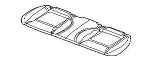 2009 2010 Dodge Challenger Cushion Cover 1MR481DBAA